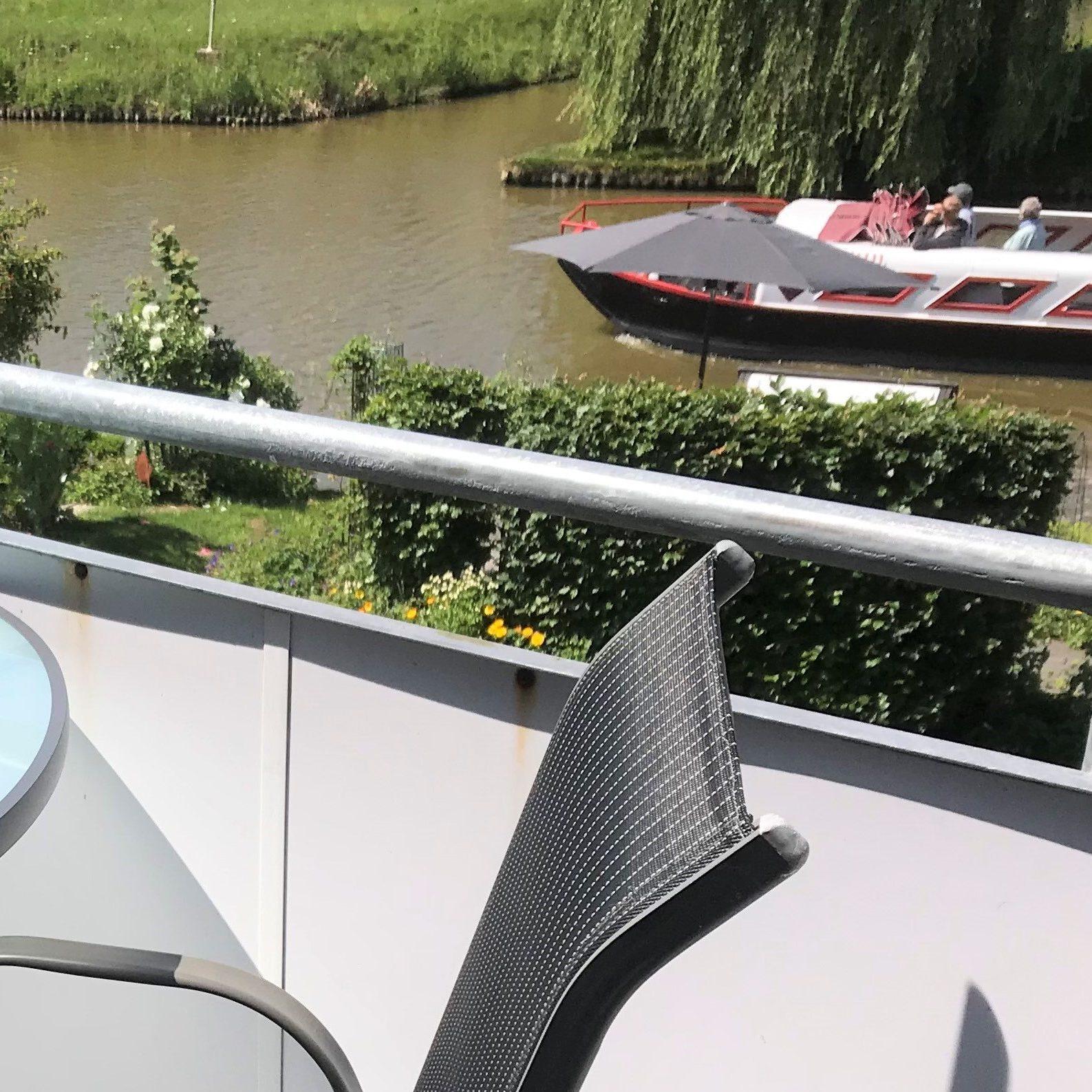 Balkon mit Sielblick